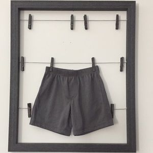Toddler Boy gray pajama shorts 3T